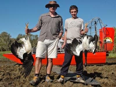 Water Fowl Hunting